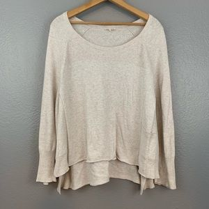 Eileen Fisher Cotton High Low Oversized Sweater